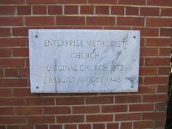 Enterprise Methodist Church Cemetery