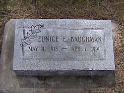 Eunice E. Baughman