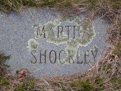 Martha Ann <i>Hardy</i> Shockley