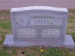 Edna Clara <i>Marlar</i> Anderson
