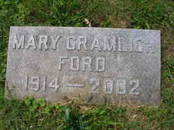 Mary <i>Gramlich</i> Ford