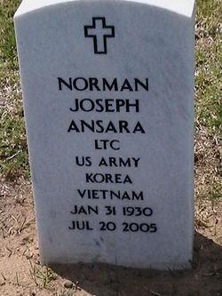 LTC Norman Joseph Ansara