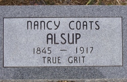 Nancy Jane <i>Coats</i> Alsup