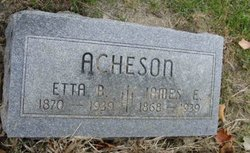 James E Acheson