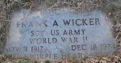 Frank A. Wicker