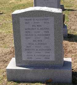 Margaret Aloysius <i>Higgins</i> Alexander
