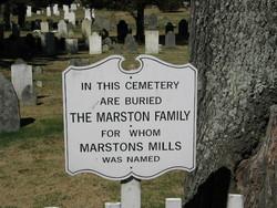 Marstons Mills Cemetery