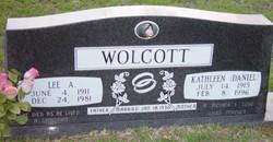 Kathleen <i>Daniel</i> Wolcott