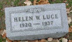 Helen W Luce