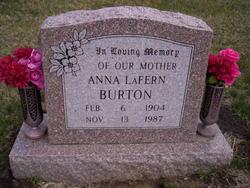 Anna LaFern <i>McKee</i> Burton