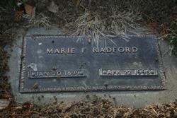 Shirley Marie <i>Flesher</i> Radford