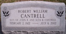 Robert William Bob Cantrell