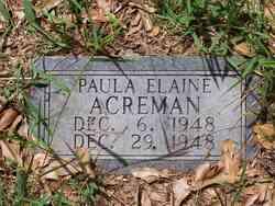 Paula Elaine Acreman
