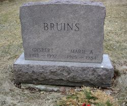Marie A. Bruins