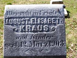 Elisabeth Lizzie <i>Reiss</i> Kraus