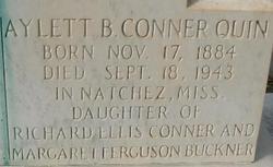 Aylett Buckner <i>Conner</i> Quinn