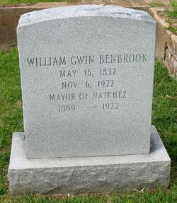 William Gwin Benbrook