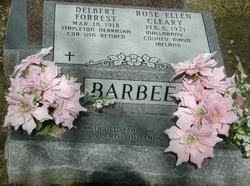 Rose Ellen <i>Cleary</i> Barbee