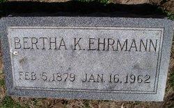 Bertha K Ehrmann