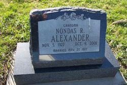 Nondas Jane <i>Robinson</i> Alexander