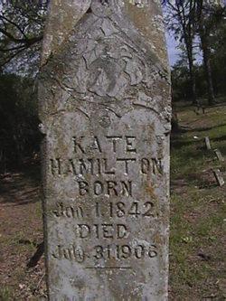 Mary Catherine Kate <i>Hughes</i> Hamilton