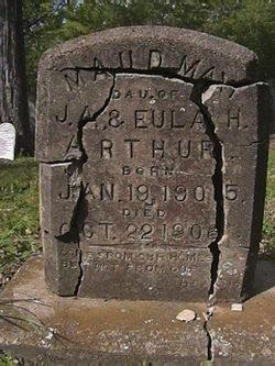 Maud May Maudie Arthur