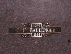 C. F. Ballenger