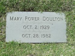 Mary Christine <i>Power</i> Doulton
