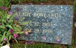 Mary Lady Allen <i>Neal</i> Rowlands