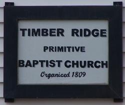 Timber Ridge Primitive Baptist Cemetery