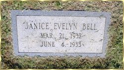 Janice Evelyn Bell