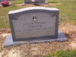 Marion Thomas Stroder