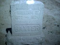 William Denean Baxter