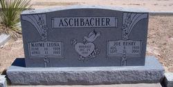 Joe Henry Aschbacher