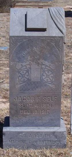 Jacob Francis Self