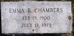 Emma B. Chambers