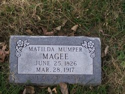 Matilda <i>Mumper</i> Magee