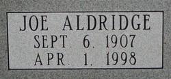 Joe Aldridge Randolph
