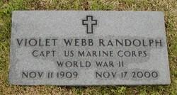 Violet <i>Webb</i> Randolph