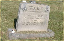 Thomas Markson Ware