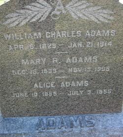 Mary Relief <i>Wilder</i> Adams