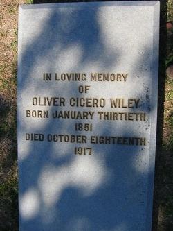 Oliver Cicero Wiley