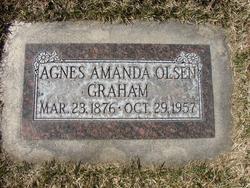 Agnes Amanda <i>Olsen</i> Graham