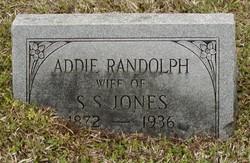 Addie <i>Randolph</i> Jones