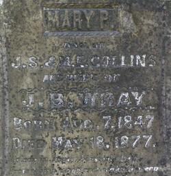 Mary P <i>Collins</i> Wray