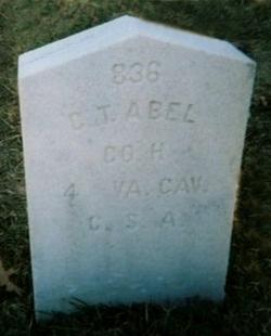 Pvt Charles T Abel