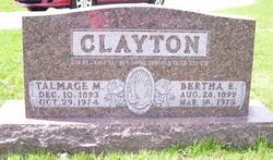 Bertha Erma Nellie <i>Shively</i> Clayton