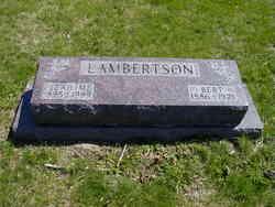 Leah M. <i>Dumont</i> Lambertson