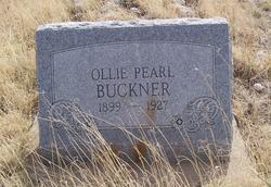 Ollie Pearl Buckner