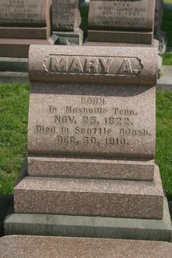 Mary Ann <i>Boren</i> Denny